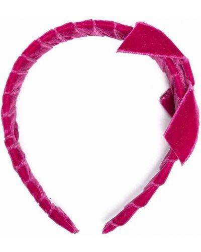 Różowa opaska bawełniana Colorichiari