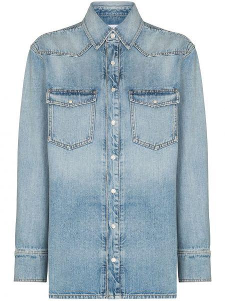 Koszula jeansowa - niebieska Givenchy