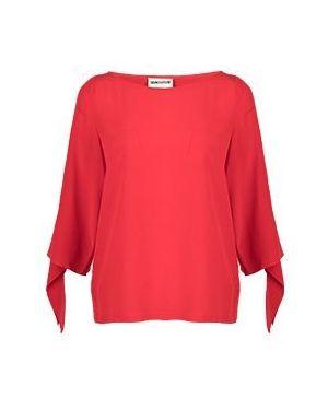 Блузка красная Semicouture