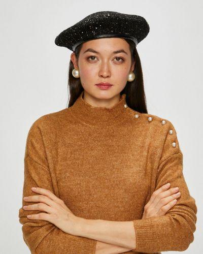 Sweter z aplikacjami brązowy Vero Moda