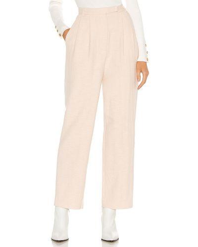 Beżowe spodnie bawełniane Atoir