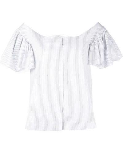 Рубашка с коротким рукавом - белая Isa Arfen
