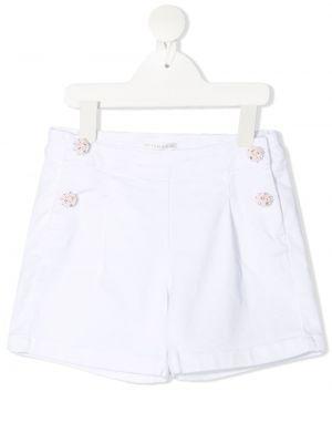 Białe szorty bawełniane Charabia
