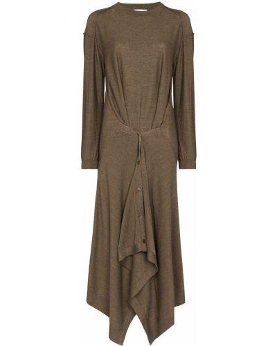 Трикотажное платье миди Lemaire
