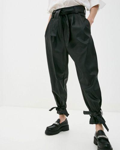 Кожаные черные брюки Haily's
