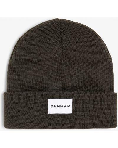 Zielona czapka Denham
