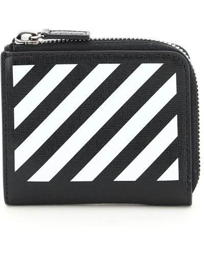 Biały portfel skórzany Off-white