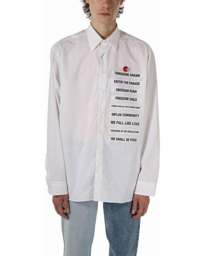 Biała koszula Raf Simons