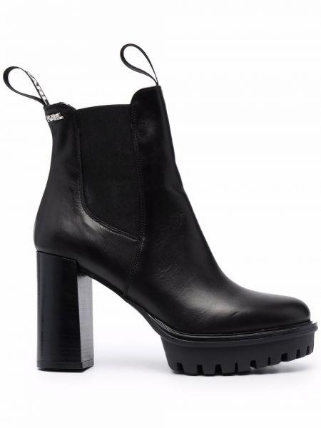 Trampki wysokie - czarne Karl Lagerfeld