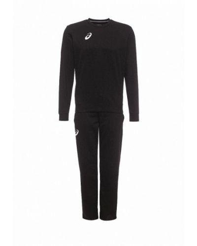Черный спортивный костюм Asics
