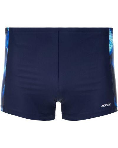 Плавки-боксеры синие плавки-шорты Joss