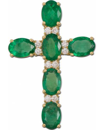 Желтый крест металлический Zlato