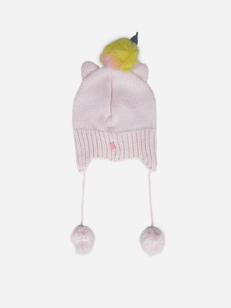 Акриловая шапка - розовая Billieblush
