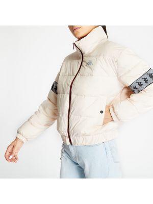 Серебряная куртка Kappa