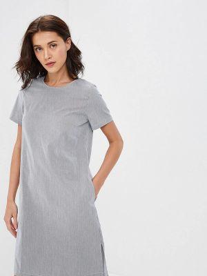 Платье - серое Baon
