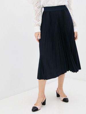 Плиссированная юбка - синяя Rich&royal
