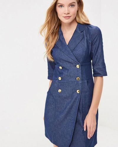 Синее джинсовое платье Trendyangel