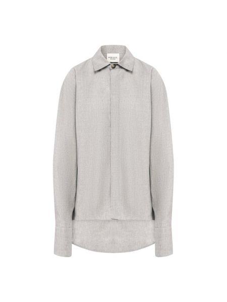Джинсовая рубашка деловая с длинным рукавом A.w.a.k.e. Mode