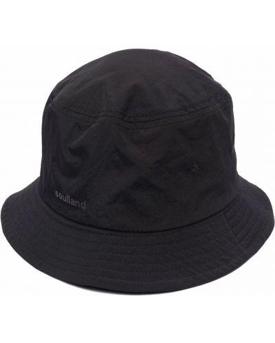 Czarny kapelusz Soulland