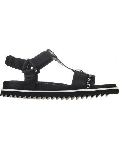 Черные кожаные сандалии Iceberg