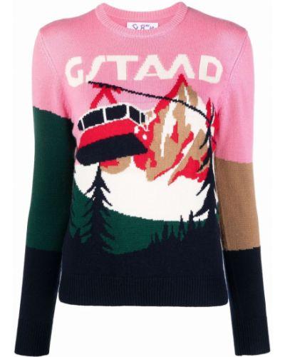 Кашемировый свитер - розовый Mc2 Saint Barth