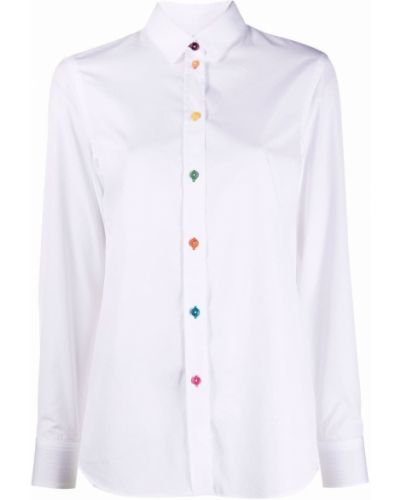 Белая рубашка на пуговицах Paul Smith