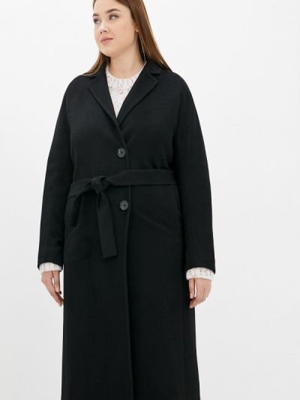 Черное пальто осеннее Shartrez