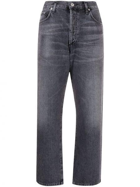 Прямые джинсы укороченные на пуговицах Citizens Of Humanity