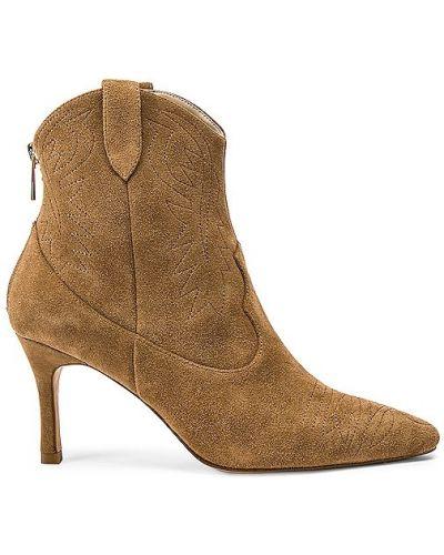 Ankle boots zamszowe Raye
