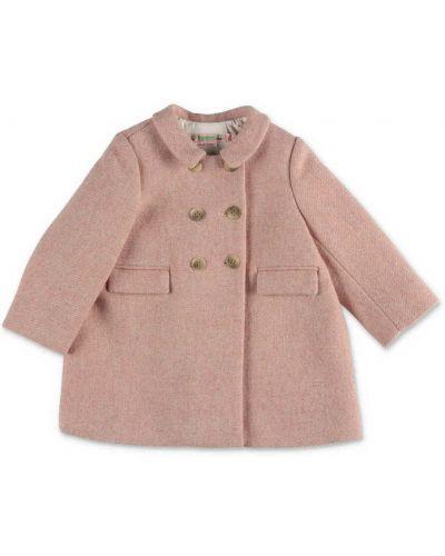 Różowy płaszcz Bonpoint