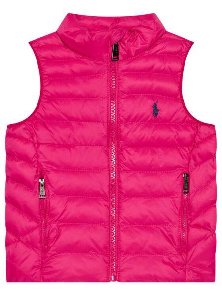 Różowa kamizelka Polo Ralph Lauren