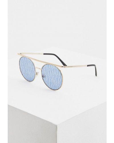 Солнцезащитные очки круглые итальянский Giorgio Armani