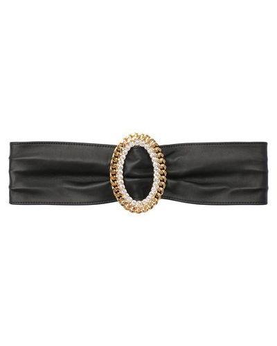 Ремень металлический с декоративной отделкой с поясом Alessandra Rich