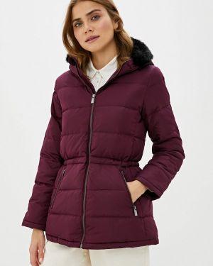 Зимняя куртка осенняя бордовый Gap