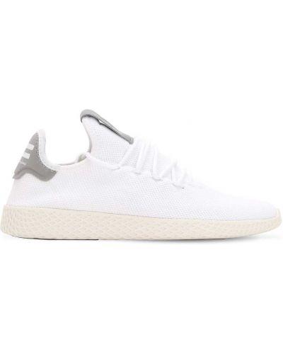 Biały koronkowa sneakersy zasznurować Adidas Originals