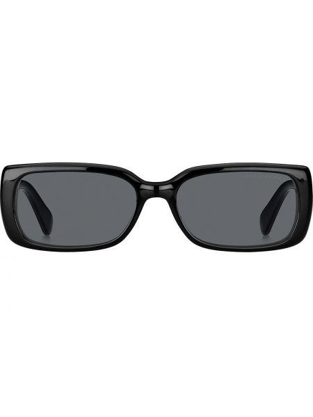 Прямые муслиновые черные солнцезащитные очки квадратные Marc Jacobs Eyewear