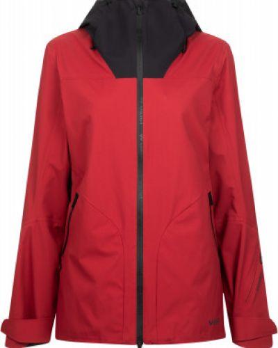 Красная куртка на молнии с капюшоном VÖlkl