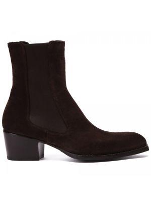 Коричневые итальянские ботинки Rocco P.