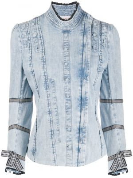 Джинсовая рубашка - синяя A.f.vandevorst