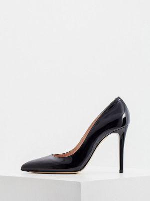 Черные итальянские туфли Nando Muzi
