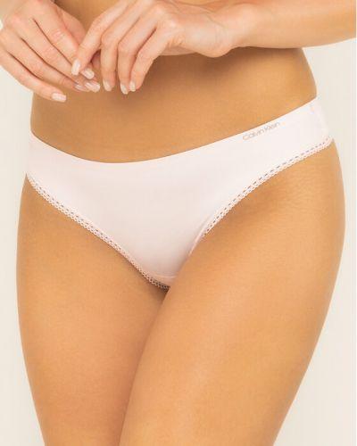 Stringi - różowe Calvin Klein Underwear
