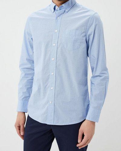 Голубая рубашка Gant