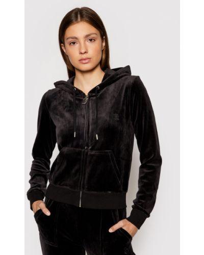 Czarny dres Juicy Couture