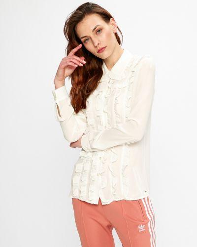 Белая блузка прямая Silvian Heach