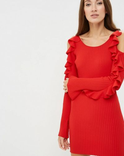 Платье красный осеннее You&you