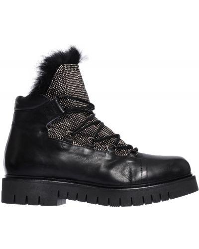 Ботинки на платформе кожаные осенние Fru.it