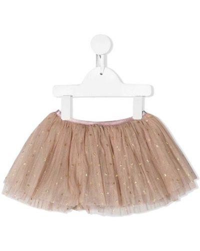 Розовая юбка из фатина Caffe' D'orzo