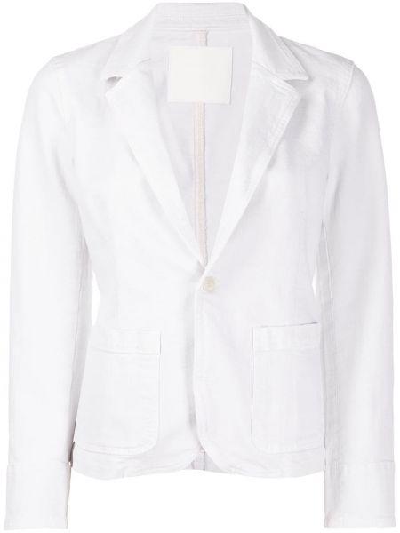 Пиджак в полоску с накладными карманами Mother