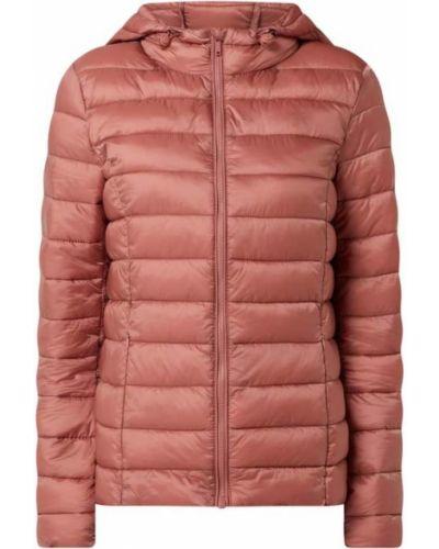 Różowa kurtka pikowana z kapturem Montego