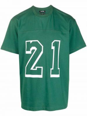 Zielona t-shirt bawełniana Just Don